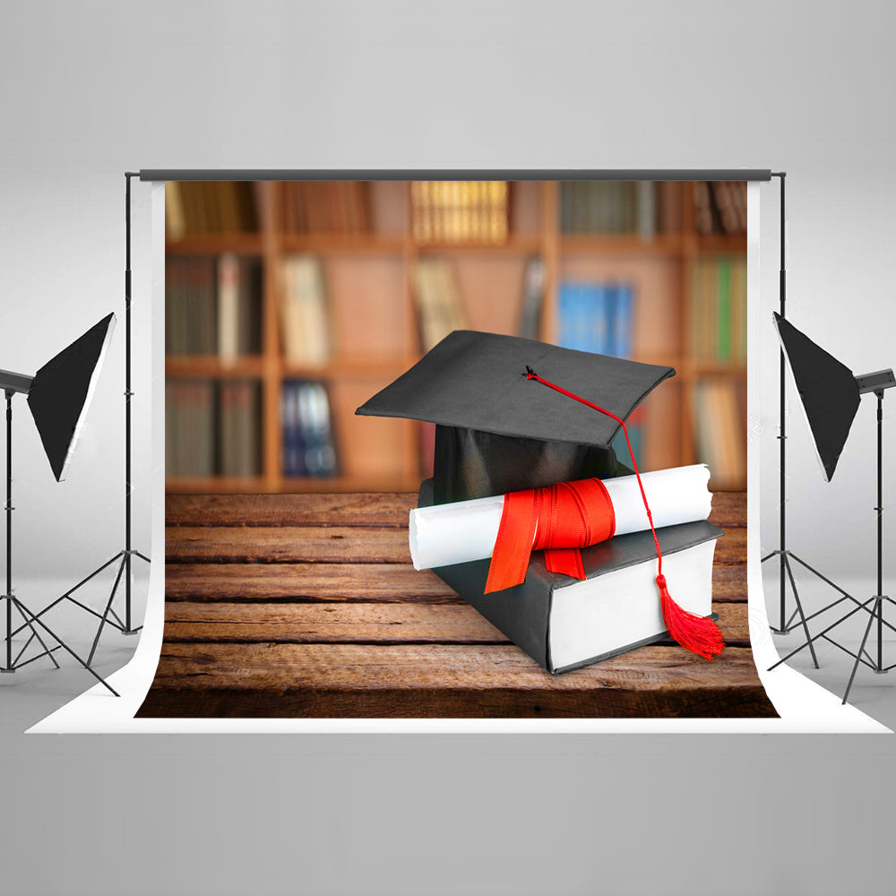 Back to School Graduation Party Photo Backdrop