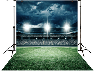Football soccer sports theme backdrop for photo studio