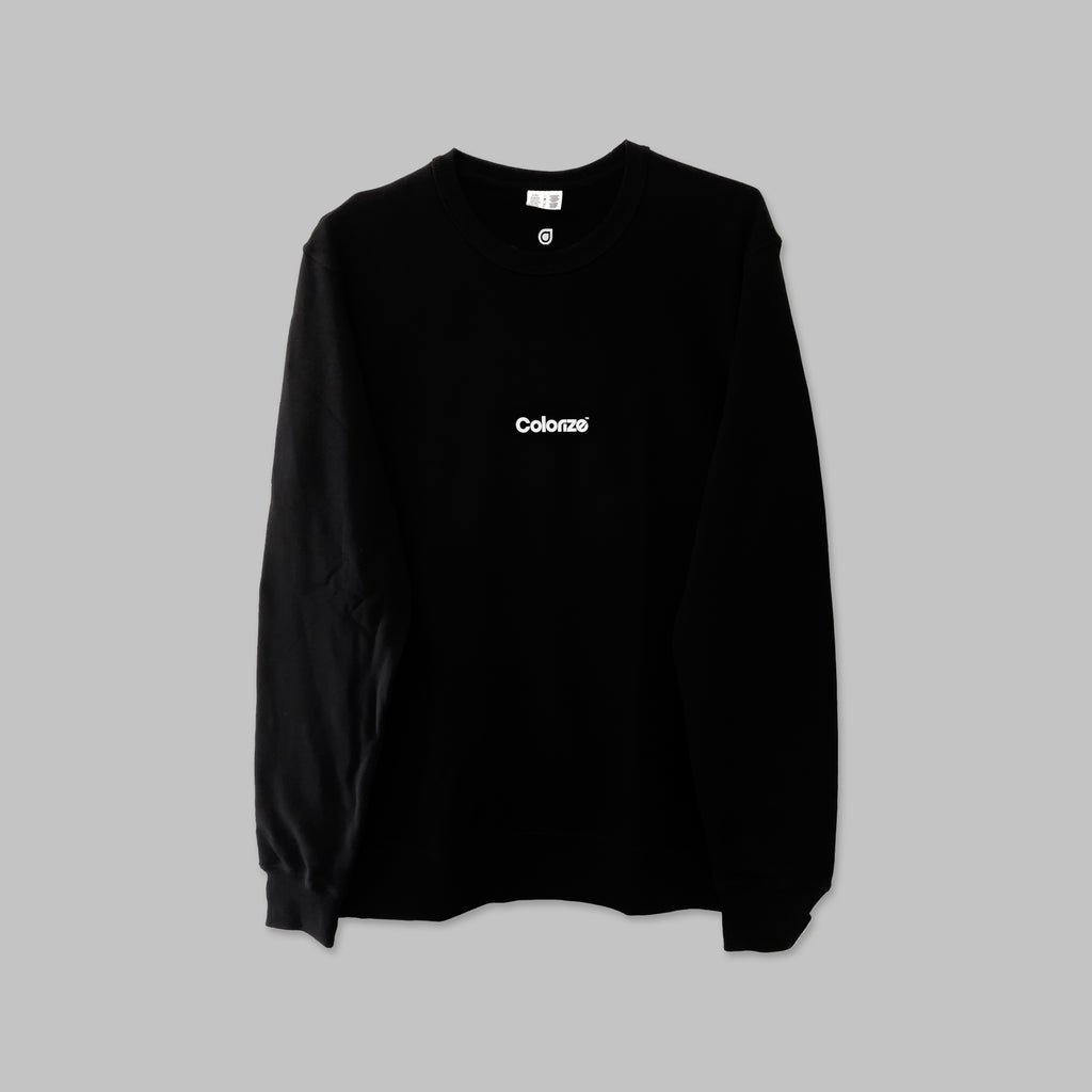 Colorize Logo Sweater in Black