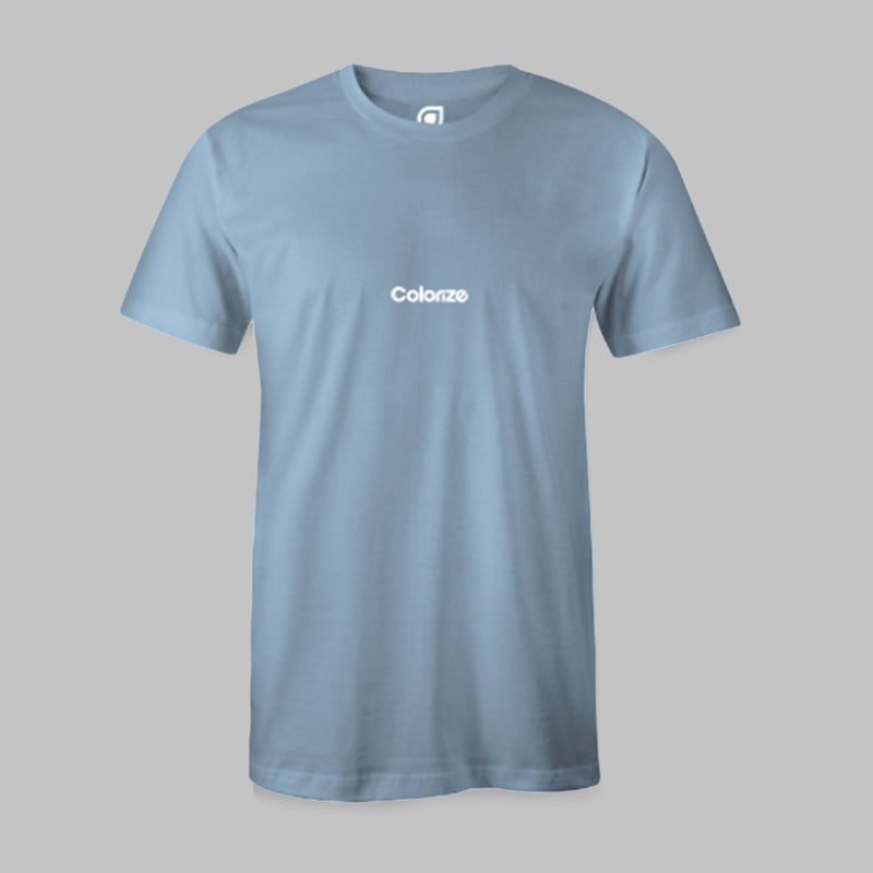 Colorize Logo T-Shirt in Light Blue