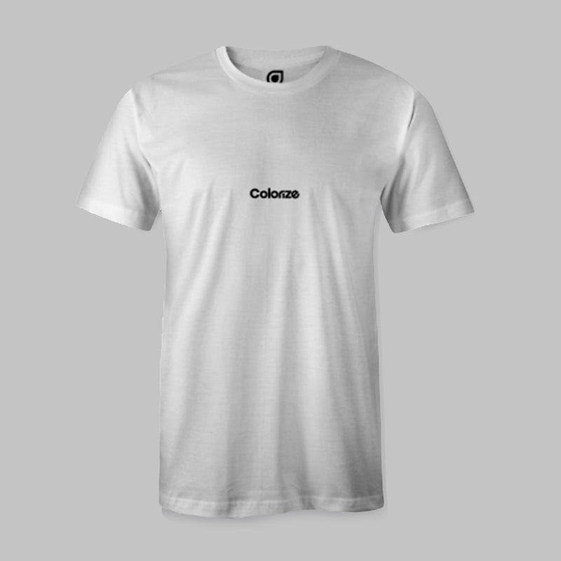 Colorize Logo T-Shirt in White