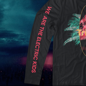 Tritonal 'Electric Kids' Long-Sleeve T-Shirt