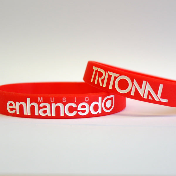 2x Enhanced Music / Tritonal Wristbands
