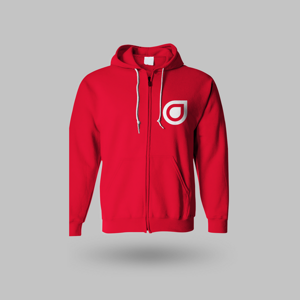 Enhanced Unisex Hoodie - Red