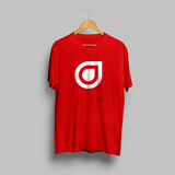 Enhanced Music Logo - Red T-Shirt