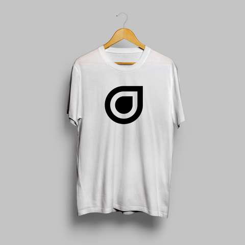 Enhanced Music Logo - White T-Shirt