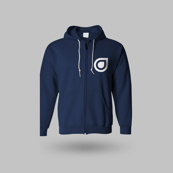 Enhanced Unisex Hoodie - Blue