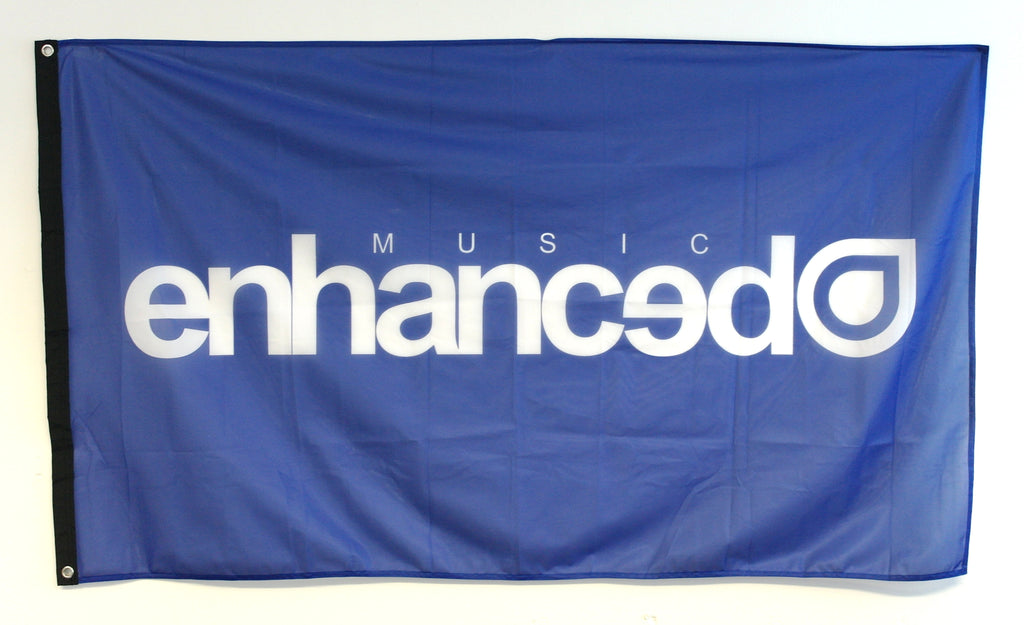 Enhanced Music Festival Flag (4 Colours)
