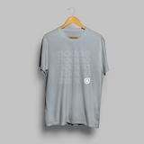 Grey Repeated Teardrop T-shirt