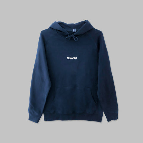 Colorize Logo Hoodie in Navy