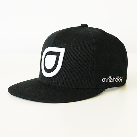 Enhanced Music Snapback - Black