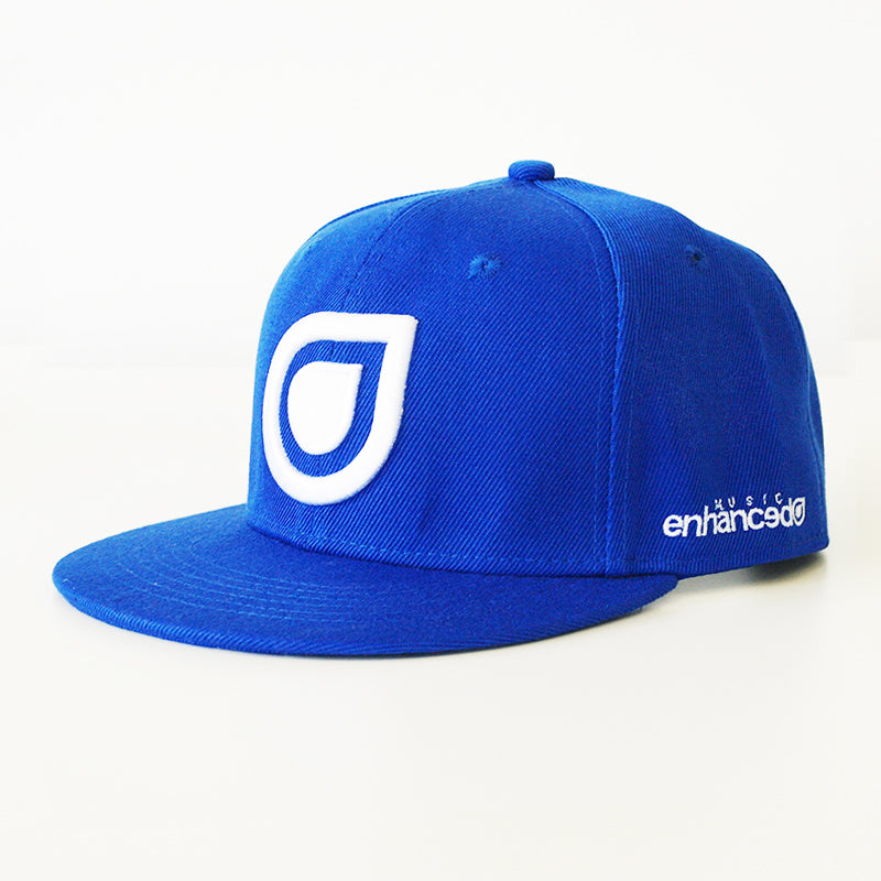 Enhanced Music Snapback - Blue