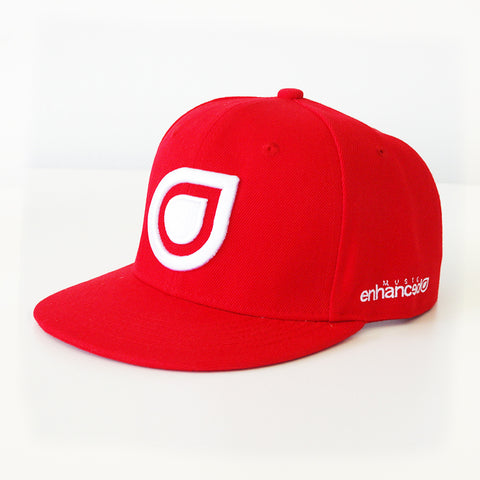 Enhanced Music Snapback - Red