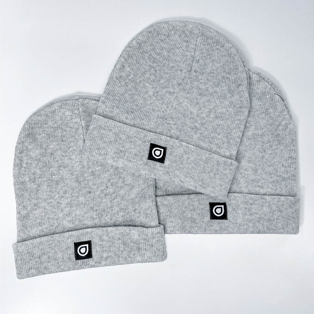 Enhanced Cuff Premium Beanie - White Heather