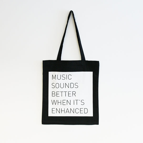 Enhanced Music Tote Bag