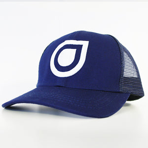 Enhanced Music Trucker Hat - Blue