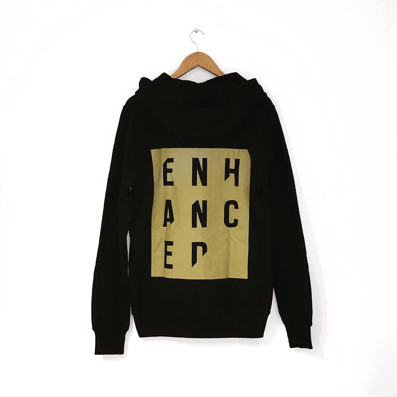 10 Years of Enhanced - Stencil Zip Hoodie