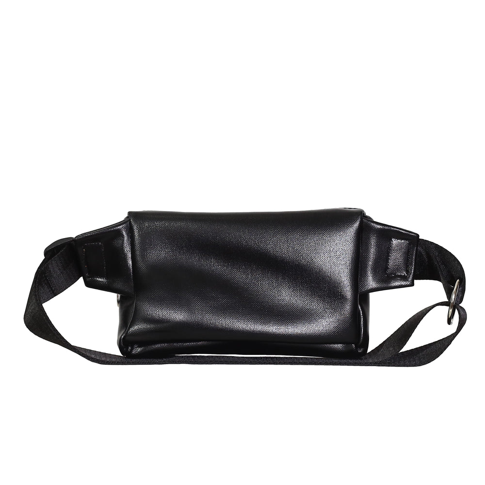 Black Shiny Zipplebag