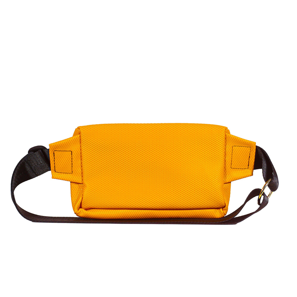 Orange Polygon Zipplebag