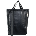 Shiny Black Sis Bag