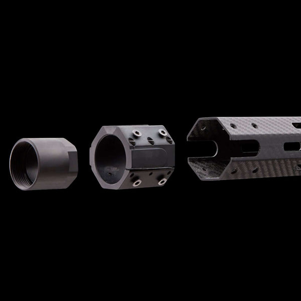 Lightning Carbon Fiber Handguard - Super Lightweight AR15 Rail
