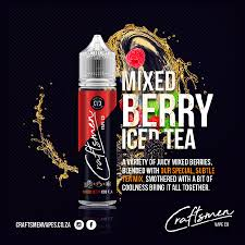 Craftsmen Vape Co. - Mixed Berry Iced Tea