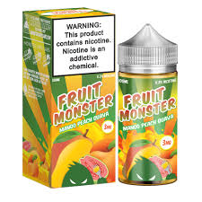 Fruit Monster - Mango Peach and Guava (3mg)