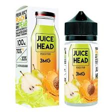Juice Head - Peach and Pear (3mg)