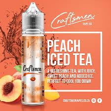 Craftsmen Vape Co. - Peach Iced Tea