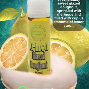 The E-Juice Co. - Lemon Glazed Doughnut