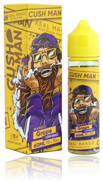 Cush Man - Mango Grape (3mg)