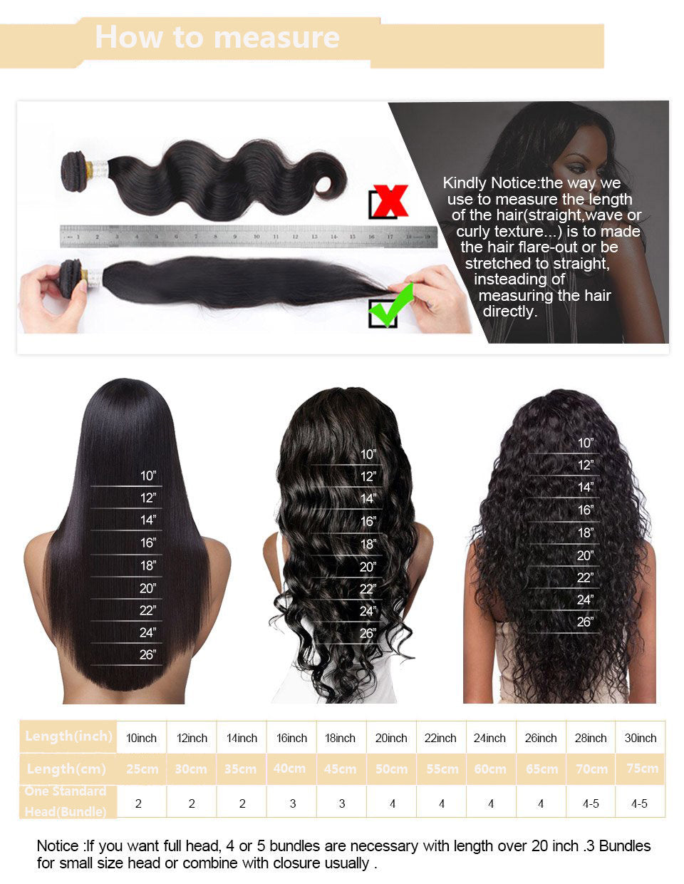 Cameraing Brazilian Human Virgin Hair Loose Wave weft with closure 3 Bundles with 4*4 lace closure 14