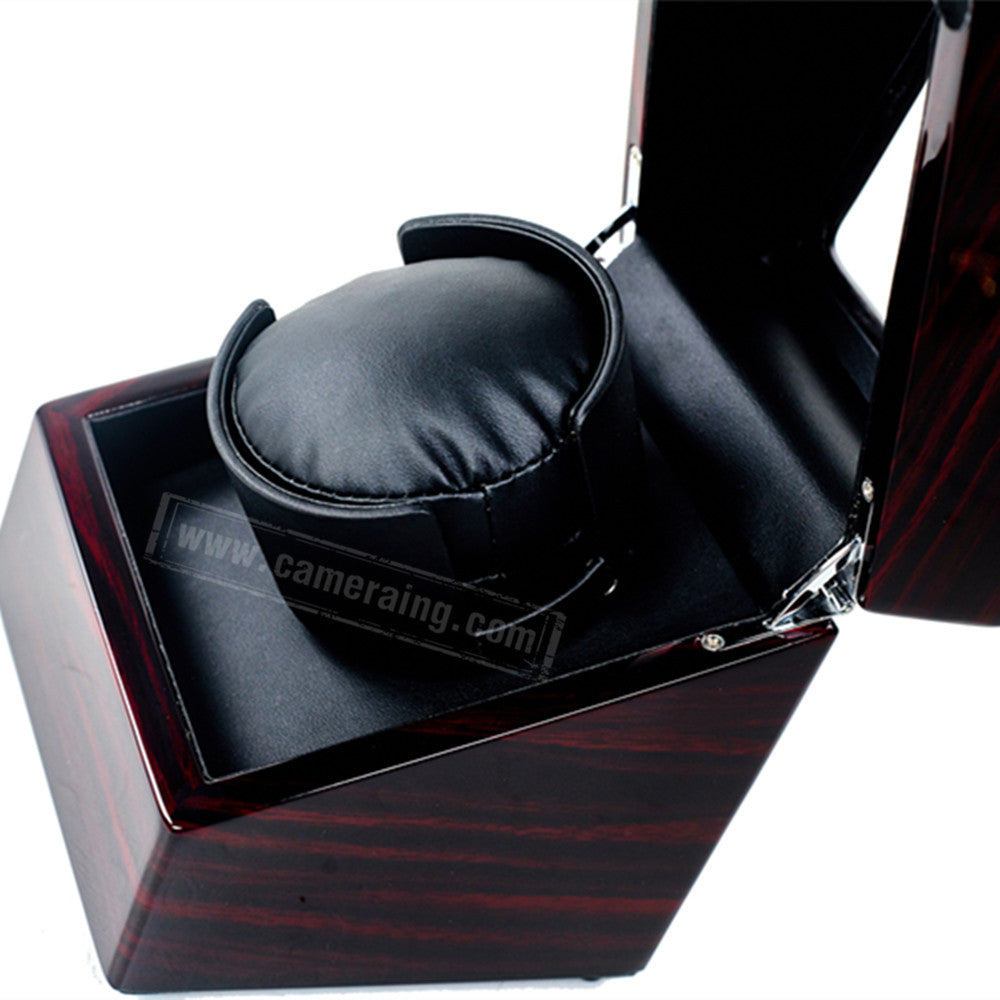 Cameraing Automatic Watch Winder With Quiet Motor Single Watch Display Box Piano Paint Appearance 9