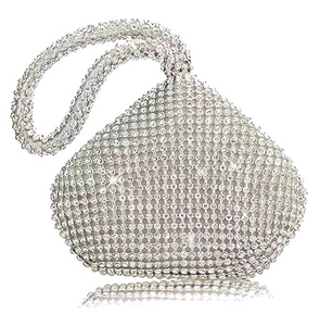 Lantutech Glitter Hand Clutches Evening Bags Wedding Purse