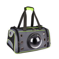 Pet Carrier, Dog and Cat Carrier, Pet Travel Bag with Transparent Breathable Space Capsule Design for Small Dog Cat Kittens Puppies Premium Quality