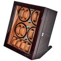Cameraing Automatic Watches Winders Piano Paint Wood Exterior and Extremely Silent Motor