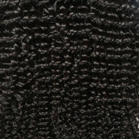 Cameraing Indian Human Virgin Hair Kinky Curly weft with closure 3 Bundles with 4*4 lace closure 6