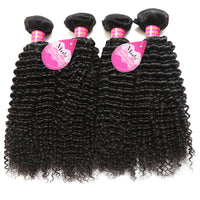 Meetu Brazilian Kinky Curly Virgin Hair Top Unprocessed Human Hair Weave