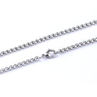 Jewelry Men's Stainless Steel Curb Chain Necklace