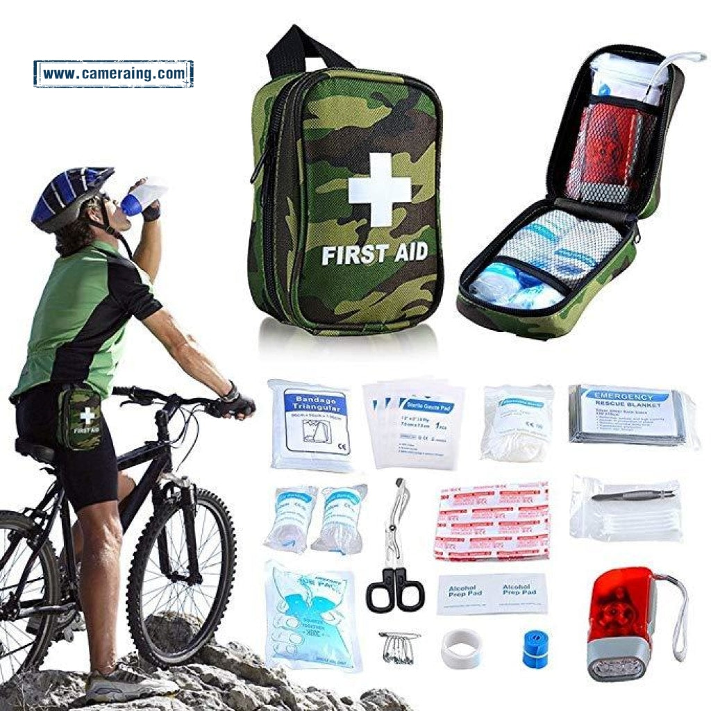 Mini First Aid Kit No Hands Carry Hang On Waist Fda Osha Verified