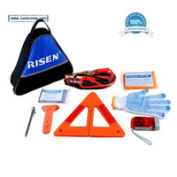Roadside Car Emergency Kit Auto Safety Assistance Kit FDA&OSHA Verified