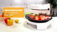 Indoor BBQ Magic Cook Far-infrared Ray Grill Roaster Indoor Electric Roast 220V