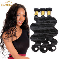 Cameraing Brazilian Human Virgin Hair Body Wave 3 Bundles