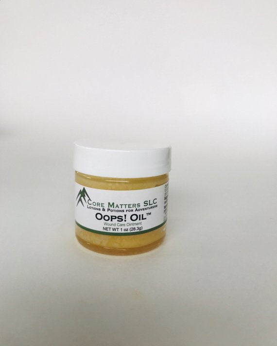 Oops Oil - Pinyon pine resin and coconut oil make - glabal-scm