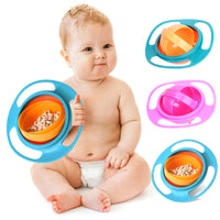 Universal Gyro Bowl 360 Rotate Spill-Proof Baby Feeding Dish Cute Baby Gyro Bowl Children's Baby Tableware baby gyro bowl - glabal-scm
