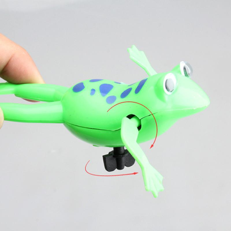 Swimming Frog Battery Operated Pool Bath Cute Toy Wind-Up Swim Frogs Kids Toy - glabal-scm