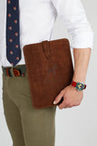 Brown Leather Ipad Case