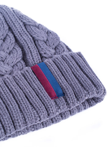 Grey Williot Beanie