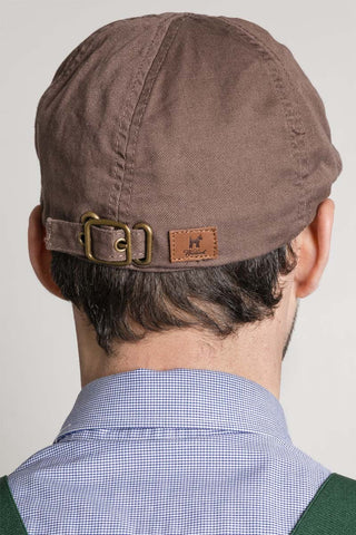 Brown Gatsby Cap