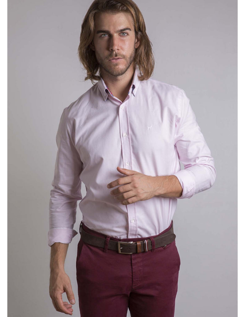 Pink Oxford Cotton Shirt FW 18/19